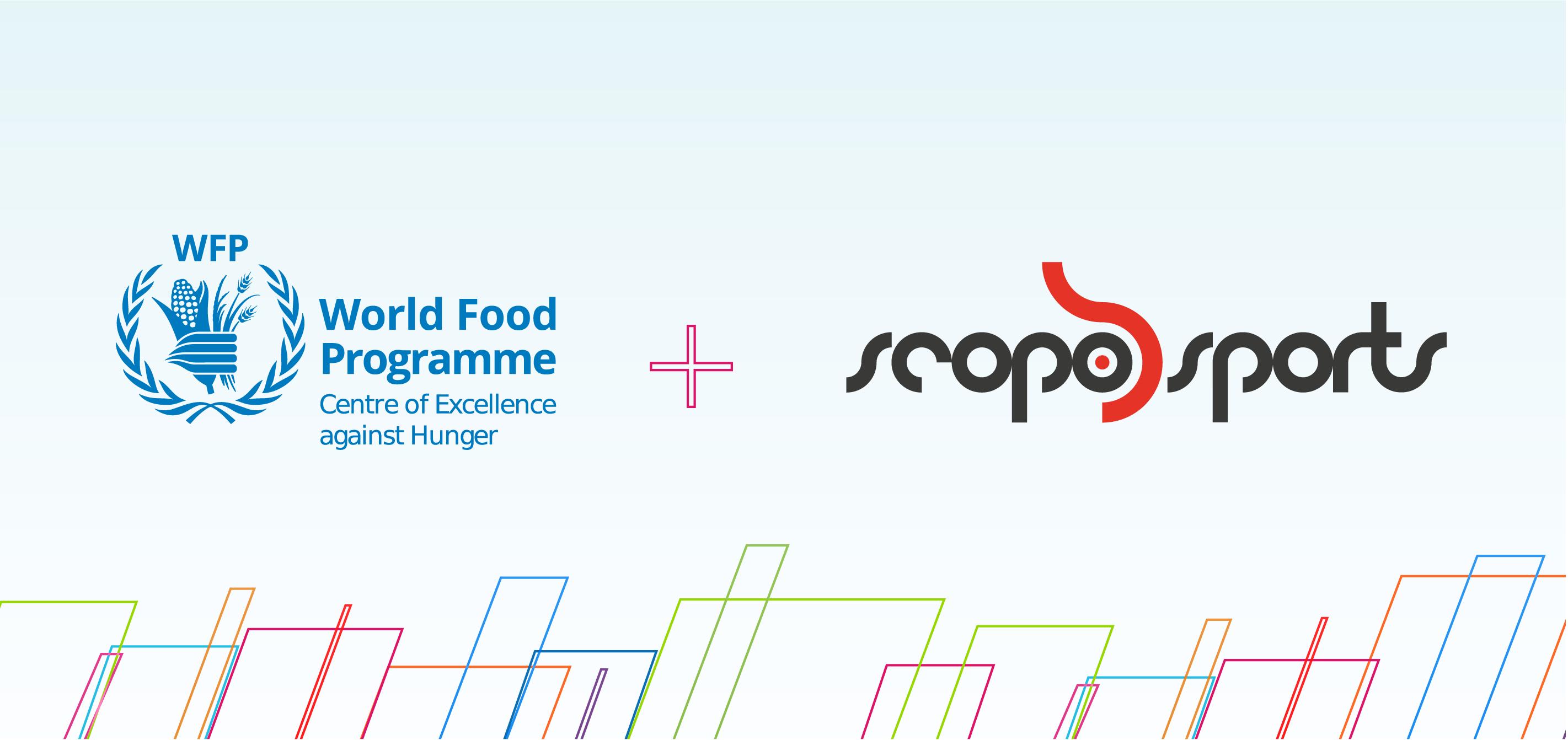 WFP e Scopo Sports renovam parceria para combate à fome