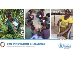 Centro de Excelência do WFP lança o primeiro desafio de inovação com DTU Skylab Foodlab