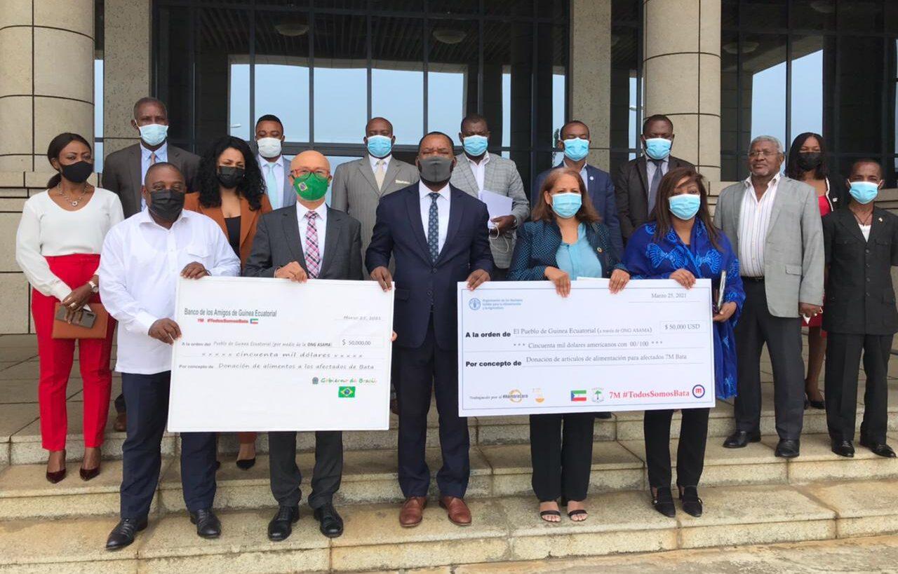 Com apoio do WFP, Brasil faz doação humanitária à Guiné Equatorial