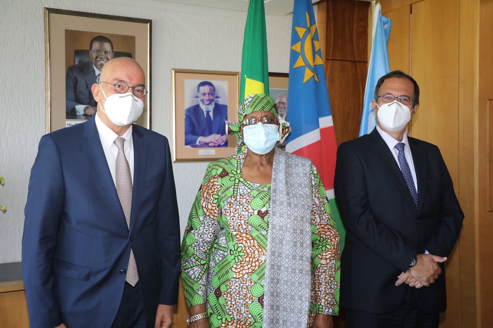Com apoio do WFP, Brasil faz doação humanitária à Namíbia