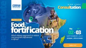 Inscrições abertas: Consulta de alto nível sobre fortificação de alimentos