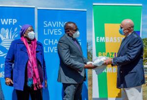 Brasil, em parceria com o WFP, fornece equipamentos de proteção à Zâmbia