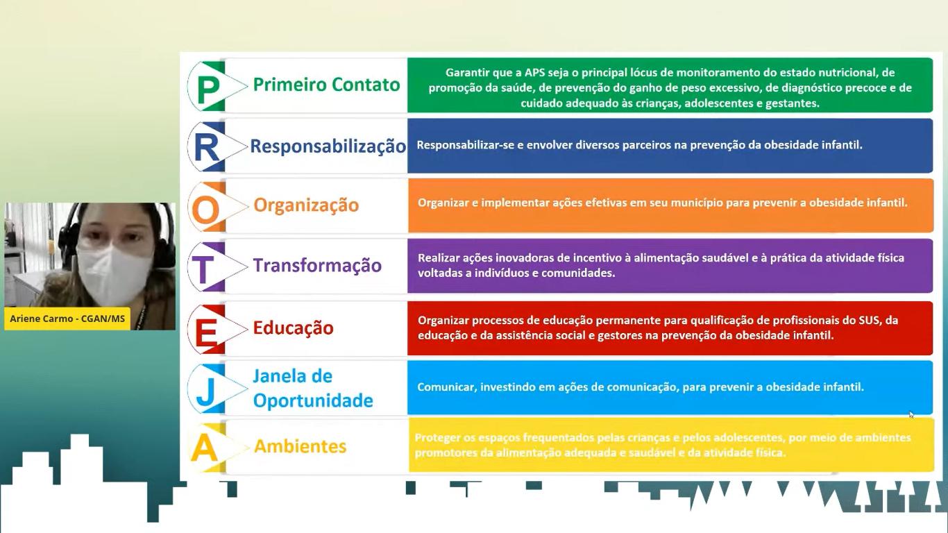 Evento apresenta papel dos municípios na prevenção à obesidade infantil