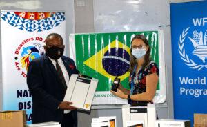 Brasil e parceiro do WFP fornecem equipamentos de resposta a emergências para Fiji