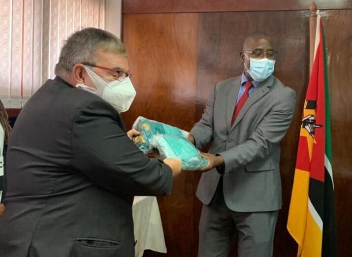 Com apoio do WFP, Brasil faz doação a Moçambique para combate à COVID-19