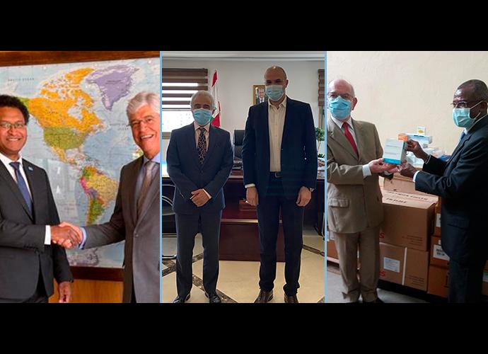 Brasil faz doações humanitárias a Fiji, Líbano e São Tomé e Príncipe com apoio do WFP